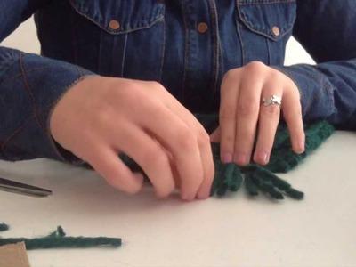 Flecos:  'Cómo Tejer una Bufanda con Punto Inglés' - #4