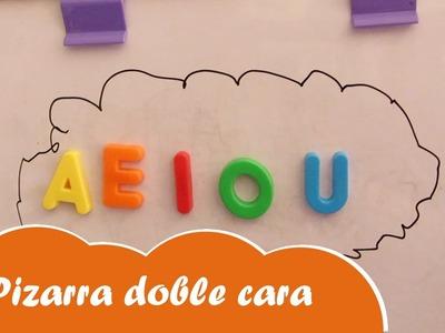 Pizarra magnética y para tiza manualidades para niños - Mundo juguetes videos de juguetes en español