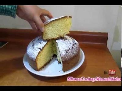 RECETA: QUEQUE DE LIMÓN MUY FACIL- Silvana Cocina y Manualidades