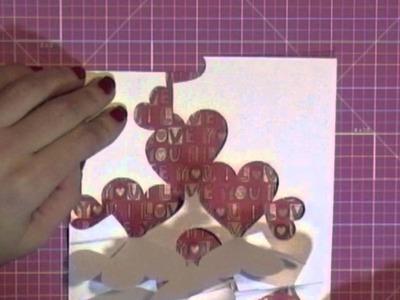 Tarjeta San Valentín. Tutorial