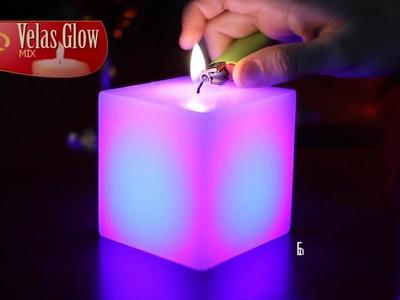 Velas Glow MIx ( velas que cambian de color al encender)