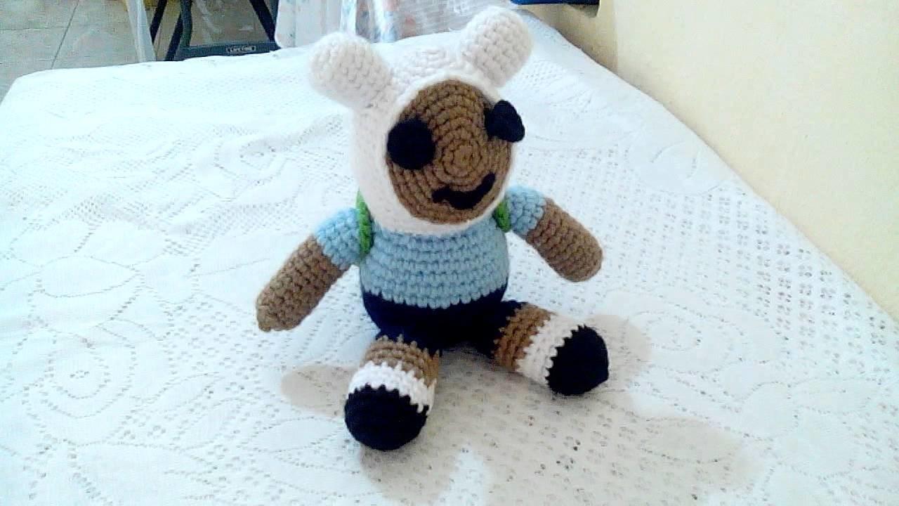 Amigurumi de finn a crochet