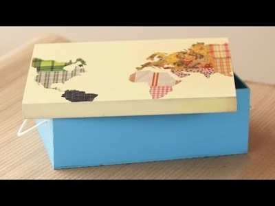 Collage en papel - Pintura en aerosol - Mapas en papel -Gimena Dusi