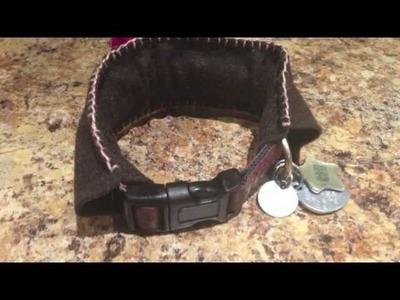 Collar  Anti pulgas  para perros un collar Natural hecho a mano