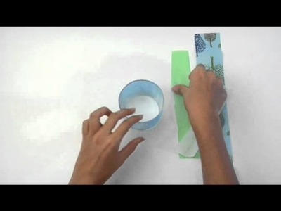 Cómo confeccionar un portavelas reciclado