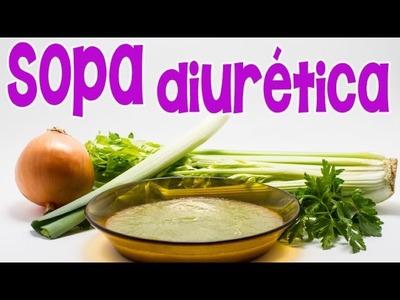 Cómo eliminar líquidos con 3 tazas de sopa diurética al día