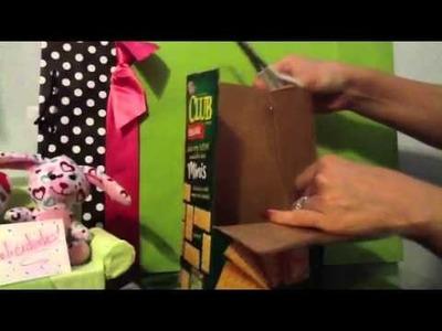 Dulcero de carton (reciclando)
