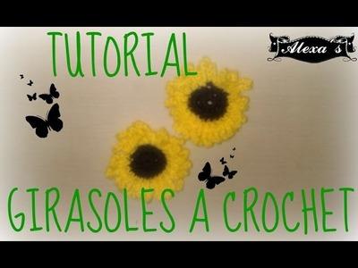 GIRASOL A CROCHET SUPER FACIL