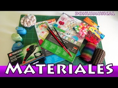 HAUL Material de Manualidades. Julio y Agosto