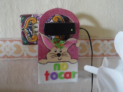Letrero para la puerta DIY