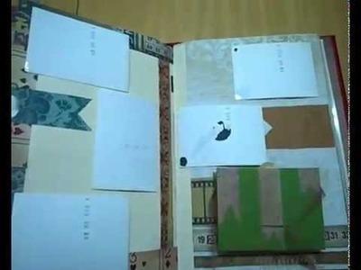 Macro álbum scrapbook finalizado para unas 180 fotos