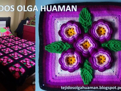 Tejidos a crochet paso a paso: muestra