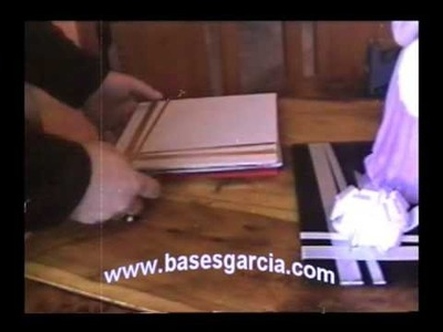 Cómo decorar base para envoltura de regalos
