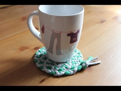 Cómo hacer un posavasos con trapillo | facilisimo.com