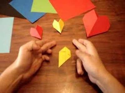 Corazon de Origami