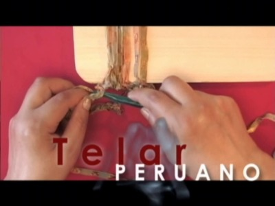 Filati estambres aprende a tejer con  Telar peruano