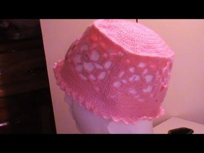 Gorro Primavera a #crochet  1a. de 3 partes.