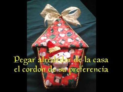 Proyecto de Arte y Artesanía - Casita ratonera - Manualidades