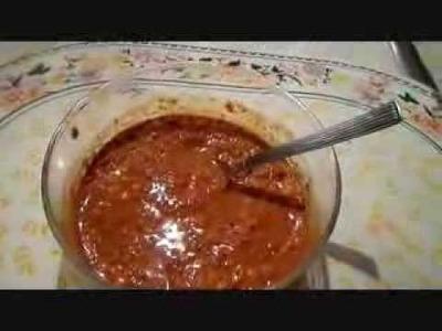 Salsa de Arbol y Cacahuate