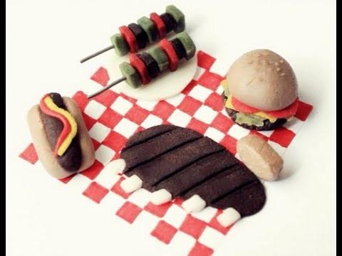 Barbacoa en miniatura - Barbecue