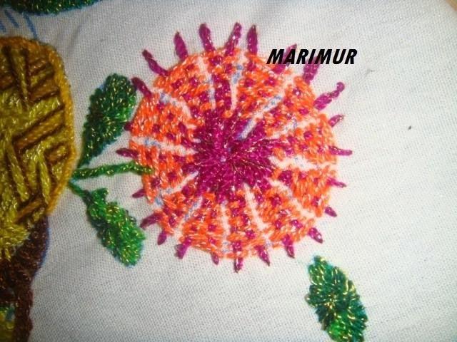 Bordado fantasia flores chiquitas diente de león ( 2) marimur 310
