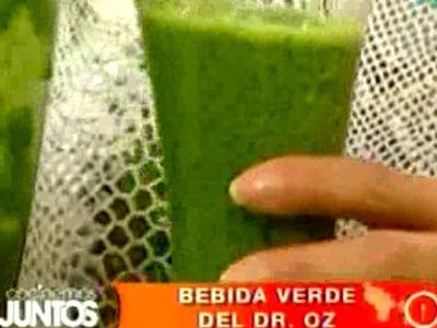 Cocinemos Juntos. Bebida verde del Dr. Oz
