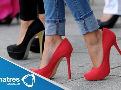 ¿Cómo caminar con tacones altos?. Tips para saber caminar en tacones correctamente