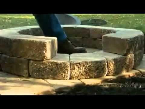 Cómo construir un fogón para exteriores