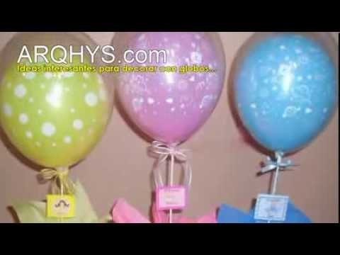 ¿Cómo decorar con globos para el Baby Shower?