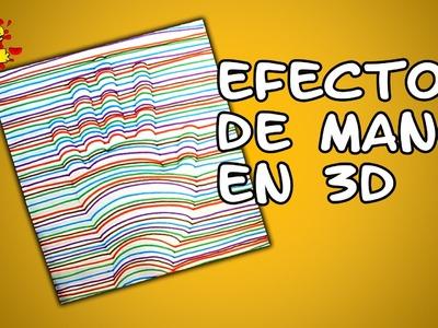 Cómo dibujar una Mano en 3D (EFECTO)