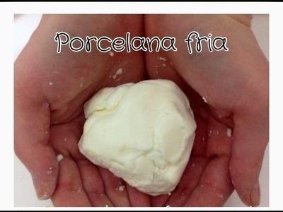 Como hacer porcelana fria sin fuego casera ( sin grietas).easy cold porcelain