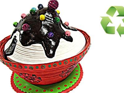 Como hacer una caja cupcake. (((Regalo original)))
