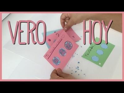 DIY - Como hacer Cartitas de Raspa y Gana para San Valentin