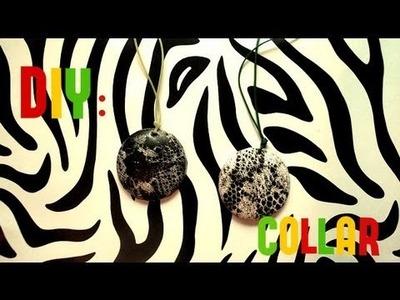 ☮ DIY: Cómo Hacer Un Collar Con Una Lata De Coca-cola ☮