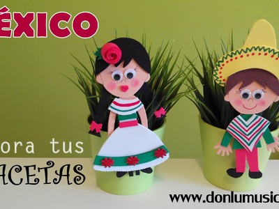 DIY Decora tus macetas. México. Manualidades fáciles