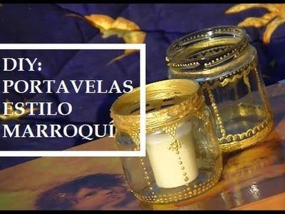 DIY:Portavelas estilo Marroquí