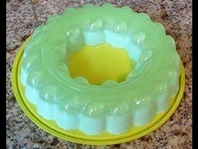 Gelatina de Limon con Queso Crema