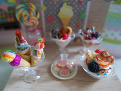 How to make a ice cream cone out of clay. Cómo hacer un cono de helado con arcilla