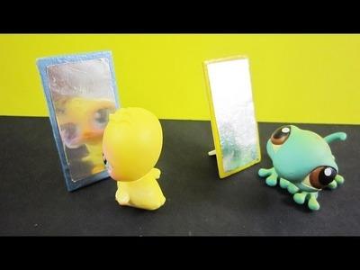 Manualidades para muñecas: Cómo hacer un espejo para tus LPS