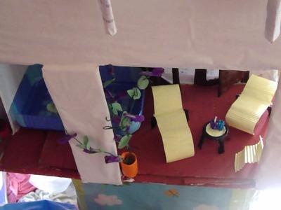 Muebles piscina y lavadero para casas de muñecas