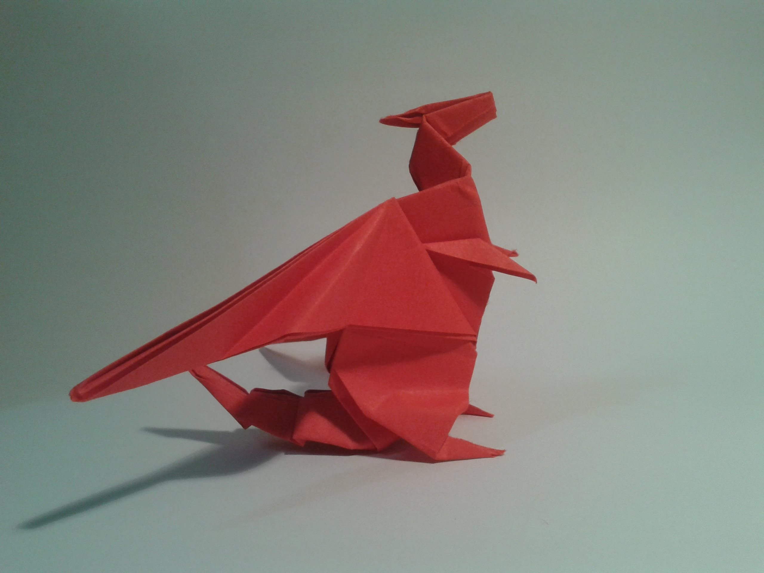 Origami - How to make a dragon (Gilad Aharoni)