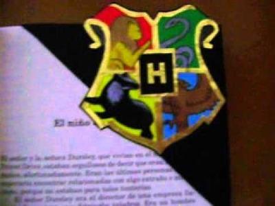 Separador de libros de Harry Potter