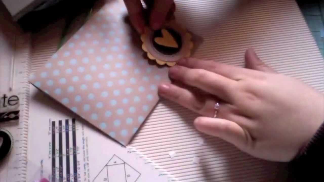 TUTORIAL Cómo hacer un sobre para tarjeta. Facilísimo.