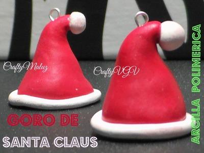 Tutorial:Especial Navidad: gorro de santa claus de arcilla  polimérica