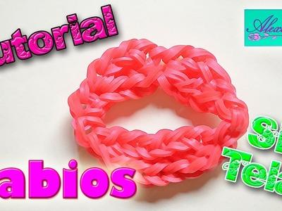 ♥ Tutorial: Labios de gomitas (sin telar) ♥