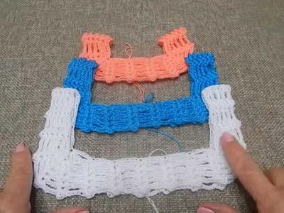 Tutorial Vestido como tejer diferentes tallas
