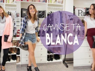 Vístete bonito con una camiseta blanca! | What The Chic