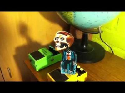 Zombie 3D de papel ilusión óptica