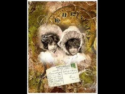 (ARTE) COLLAGE - VINTAGE - Un arte lleno de recuerdos y creatividad.