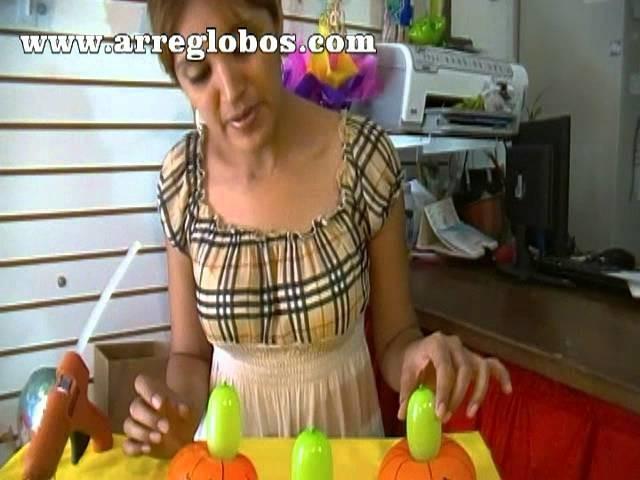 Centro de mesa para halloween  www.arreglobos.com